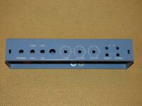 5C3 Chassis For TWEED DELUXE W/OCTAL PREAMP SATIN BLUE POWDERCOAT USA made