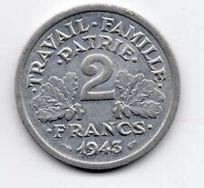 France - Frankrijk - 2 Franc 1943