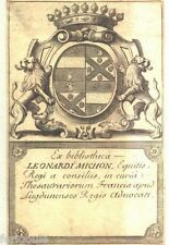 EX-LIBRIS de Léonard MICHON. Lyon.