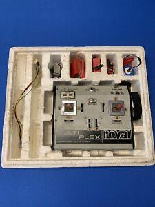 Vintage Multiplex Royal 6-kanal Fernsteuerung 60-70er Jahre mit Zubehör