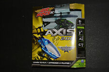 AIR HOGS RC AXIS 200 HELICOPTER Learn to Fly Indoor Use GREEN *New in Box*