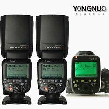 YongNuo YN-E3-RT Transmitter +YN600EX-RT II Speedlite Flash Light Kit For Canon