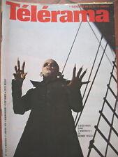 1514 KLAUS KINSKI NOSFERATU RUGBY AGUIRRE SCIASCIA COMMENCINI TELERAMA 1979