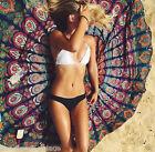 Hippie Round Mandala Tapestry Wall Hanging Indian Bohemian Beach Throw Yoga Mat