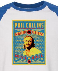 PHIL COLLINS new T SHIRT  progressive rock  all sizes s m lg xl