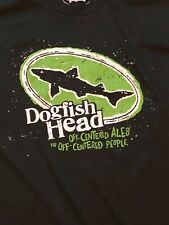 Dogfish Head Ale Beer Green T-Shirt Men's Size S, M, & L New USA Made