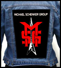 MICHAEL SCHENKER GROUP #2  --- Giant Backpatch Back Patch