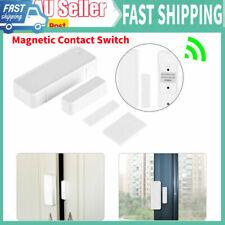 433MHz Wireless Door Magnetic Contact Sensor Detector Switch Garage Security GS