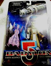 Babylon 5 Ambassador Delenn Exclusive Premiere Figure w/ Minbari Flyer