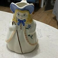 "Vintage Little Bo Peep Pitcher 8"" Shawnee USA Pottery"