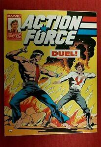 UK Marvel Action Force G.I. Joe # 17
