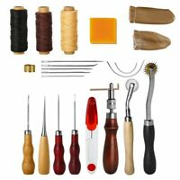 2 Pcs Leather Craft Line Wax Thread Sewing Polishing Grind Treatment Tool