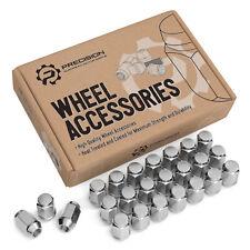 (24) 12x1.5 Chrome Lug Nuts for Acorn Wheels | Closed Bulge | 19mm or 3/4