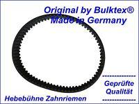 Bulktex ® adecuado para Zippo 1250 hebebühne correa dentada también como set kit disponible