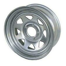 "American Tire 14"" Galvanized Wheel 5 Hole 14X6 20354"