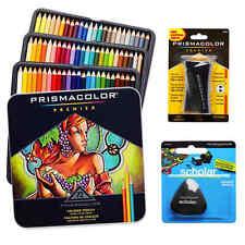 Prismacolor crayons de couleur boîte triangulaire crayon gomme et le premier ministre affûteur