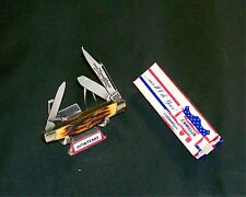 Camillus #71 Stockman Knife Sword Brand Handmade Circa-1976 W/Packaging,Papers