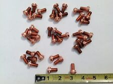 40 Solid Copper Machining Blanks Cnc Blanks 516 24tpi 78 Long 12thread