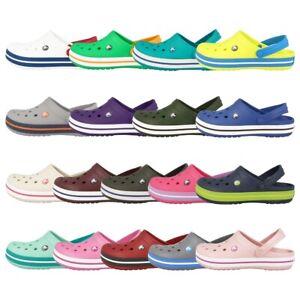 Crocs Crocband Unisex Clogs verschiedene Farben Sandalen Hausschuhe Badeschuhe