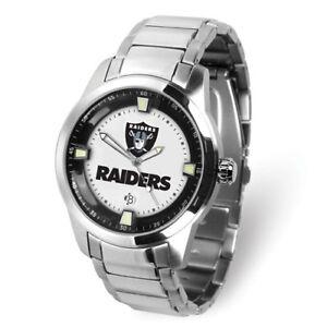 NFL Oakland Raiders Men Titan Watch Style: XWM3632 $206.90
