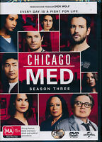 Chicago Med Season 3 Third Three DVD NEW Region 4