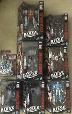 Transformers War For Cyberton Trilogy Siege Lot Chromia Starscream Barricade Etc
