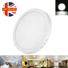 18W Surface Rounded LED Panel Ceiling Cool White Light Office Lighting 225*225mm