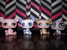 Littlest pet shop Panda 4 Family MINT Hasbro #645#899#1305#776 10%TO RESCUEGROUP