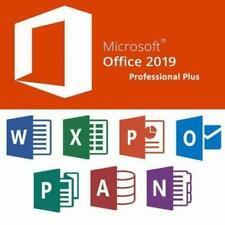 MS Office 2019 Professional Plus | Key 32/64 Bit | Vollversion | DE | dauerhaft