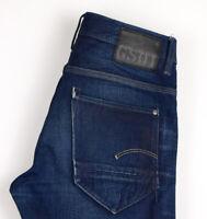 G-Star Brut Hommes Neuf Radar Slim Jeans Jambe Droite Taille W30 L30 ASZ389