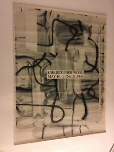 """CHRISTOPHER WOOL """"UNTITLED"""" EXHIBITION POSTER(s) RARE (SOLD AS A SET)"""