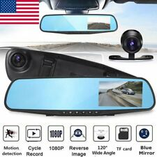 2.8'' Car DVR HD 1080P Vehicle Dash Cam Rearview Mirror Camera Recorder VP