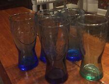 5Collectible Glasses Coca Cola McDonalds 1948 1955 3 Is 1961