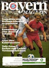 BL 82/83 FC Bayern München - 1. FC Kaiserslautern, 14.05.1983, Kalle Rummenigge