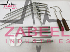 "Codman Lumber Kerrison Rongeurs 12"" w Chiels & Wire passer Orthopedic Zabeelind"