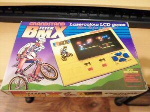 Vintage Grandstand BMX flyer vintage 80's game console BOXED INSERT INSTRUCTIONS