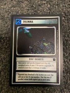 ST:CCG - Star Trek CCG - 1E - Reflections Foil - Scout Encounter