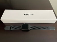 Apple Watch SE 44mm Space Gray Aluminum Case with Nike Sport Band