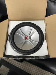 """New Kicker 15"""" Subwoofer 07CVR154 dual 4-ohm voice coils New In Box"""