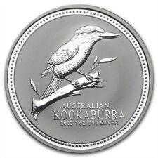 Perth Mint Australia $1 Kookaburra 2003 1 oz .999 Silver Coin
