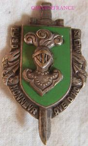 IN11297 - INSIGNE 3° Division Blindée, émail, dos lisse embouti