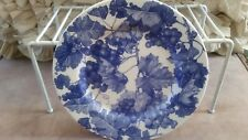 Ceramica Quadrifoglio Furio Italian Blue Grape Vine Salad Dessert Plate Dish
