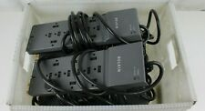 Lot Of 10 Belkin BE112230-08 12-Outlet Power Strip Surge Protector Fully Tested