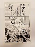 Moon Girl and Devil Dinosaur 42! Original page art! Spiderman Le Beau Underwood!