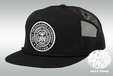 New Obey Giant Logo Black Mens Snapback Trucker Cap Hat