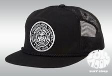 New Obey Giant Logo Black Mens Snapback Trucker Cap Hat
