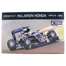 Ebbro McLaren Honda MP4-31 2016 Spanish GP Car Model Set (Scale 1:20) E018 NEW