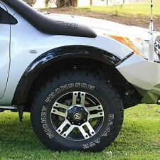 Flare Front Deluxe Fibreglass Black Pair suits Mazda BT-50 10/2011+