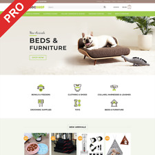 Premium Dropshipping Store - DOG SUPPLIES - Turnkey Website Business For Sale