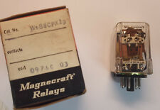 Magnecraft W588CPX-19 DPDT 24v DC Coil - 8A  NOS In orig. box - 8 pin Octal Base